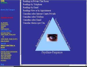 Psychic Website 2001