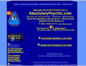 Psychic Website 2003