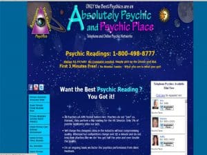 Psychic Site - Absolutey Psychic